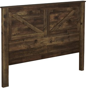 Ameriwood Farmington Headboard - Queen - Rustic