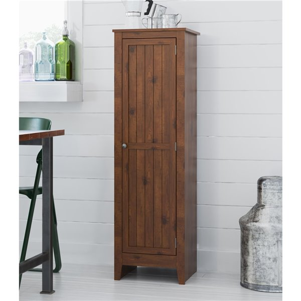 Ameriwood Home Ameriwood Milford Single Door Storage Pantry Cabinet 7303028 Rona