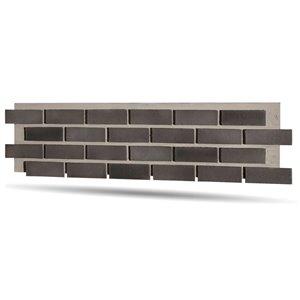 Quality Stone Modern Brick Panel - Shades of Grey - 4-Pack