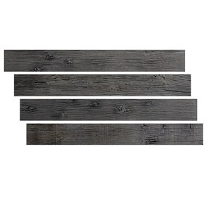 Hourwall Barn Wood Panels - Aged Elm - 4-Pack