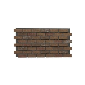 Hourwall Classic Brick Panel - Antique - 2-Pack