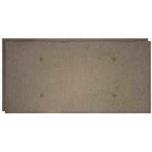 Hourwall Urban Concrete Circle Panels - Washed Grey - 2-Pack
