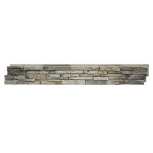 Panneaux Stacked Stone de Quality Stone, calcaire, paquet de 4
