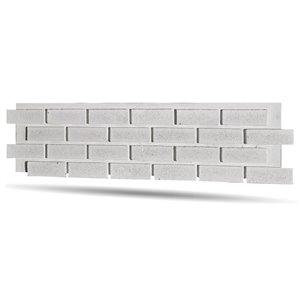 Quality Stone Modern Brick Panel - Simply White - 4-Pack