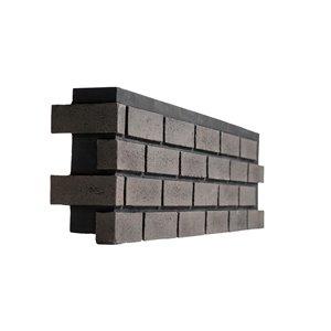 Quality Stone Modern Brick - Left Corner - Pencil Lead - 4-Pack