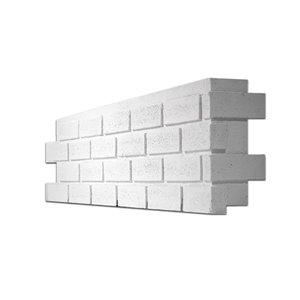Quality Stone Modern Brick - Right Corner - Simply White - 4-Pack