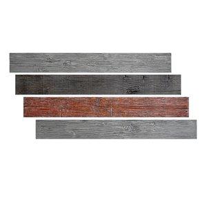 Hourwall Barn Wood Panels - Random Blend - 4-Pack