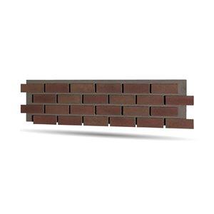 Quality Stone Modern Brick Panel - Terra Cotta - 4-Pack