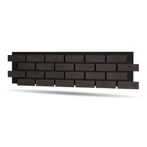 Quality Stone Modern Brick Panel - Pencil Lead - 4-Pack