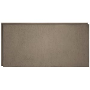 Hourwall Urban Concrete Flat Panels - Washed Grey - 2-Pack