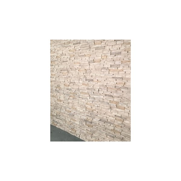 Panneaux Stacked Stone de Quality Stone, aspen, paquet de 4