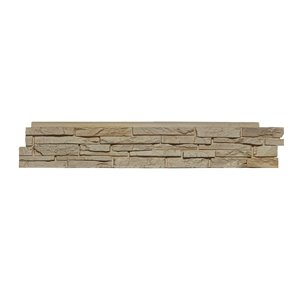 Quality Stone Stacked Stone - Panels - Aspen - 4-Pack