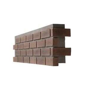 Quality Stone Modern Brick - Right Corner - Terra Cotta - 4-Pack