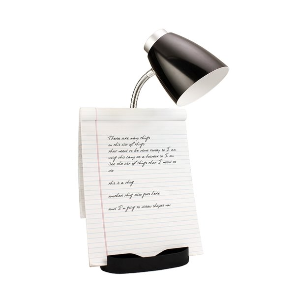Organizer Desk Lamp