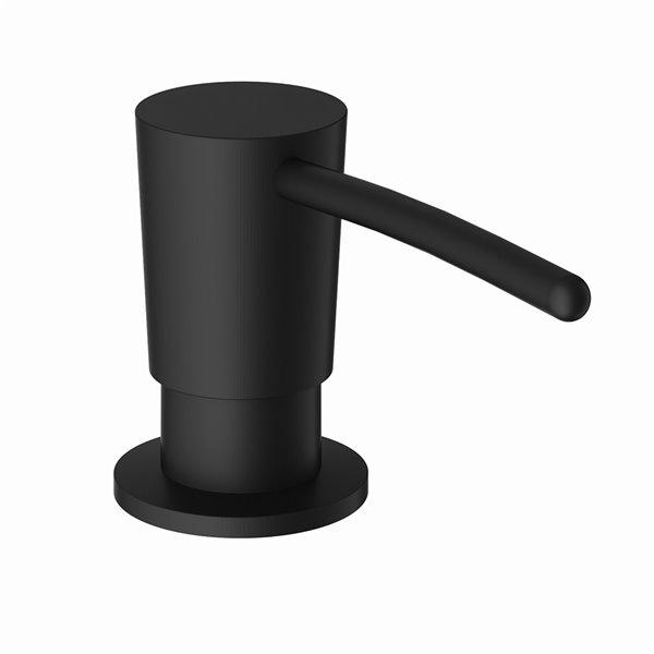 VIGO Kitchen Soap Dispenser Black Finish - 10 oz reservoir - 11-in