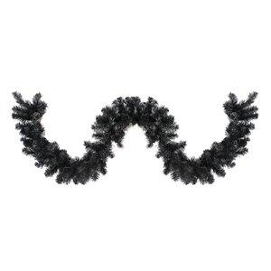 Northlight Colorado Spruce Artificial Christmas Garland - Unlit - 9-ft x 10-in - Black