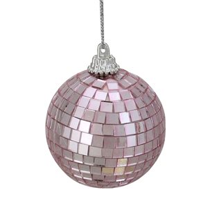 Northlight Mirrored Glass Disco Ball Christmas Ornaments - 2.5-in - 9 Piece