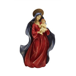 Northlight Red and Blue 18.5-in Virgin Mary Nativity Tabletop Decoration