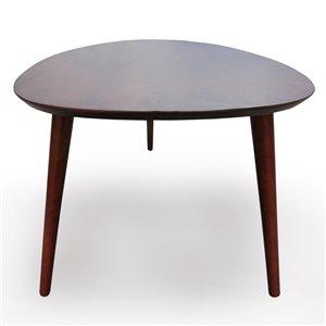 Best Selling Home Décor Elam Modern Walnut Wood Coffee Table