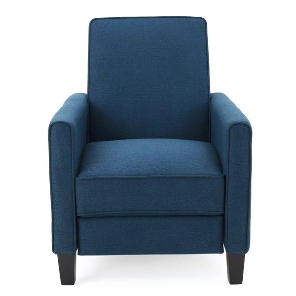 Non Swivel Recliner Club Chair, Club Chair Recliner Fabric