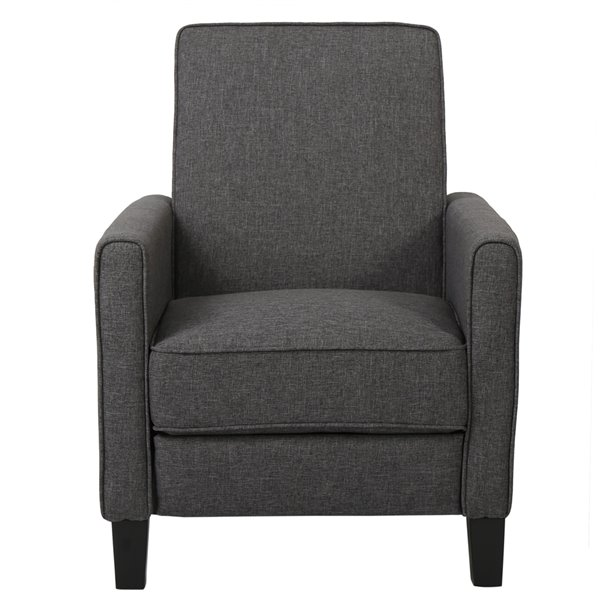 Best Selling Home Décor The Darvis Smoky Non-Swivel Recliner