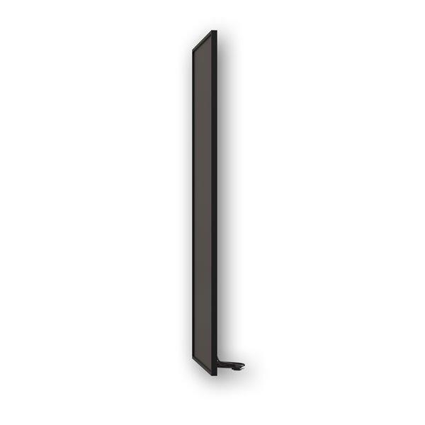 Wexstar 800W Infrared Panel Heater - 23.5-in x 47.2-in - Black
