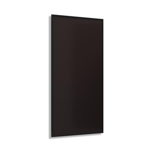 Chauffage infrarouge 800W de Wexstar, 23,5 po x 47,2 po, noir
