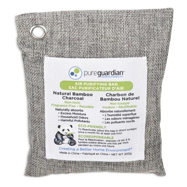 PureGuardian Air Purifying Bamboo Charcoal Bags - 200-g