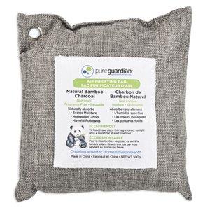 Sachets de charbon de bambou purificateur d'air PureGuardian, 500 g