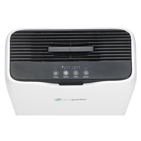 GermGuardian 3-in-1 Ionic Air Purifier with HEPA Filter - 151-sq. ft. - White