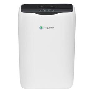 Purificateur d'air 3-en-1 GermGuardian avec filtre HEPA, 151 pi², blanc