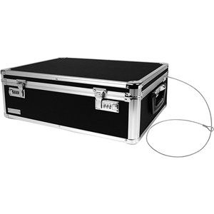Vaultz Storage Chest Residential Combination lock Black Chest Safe