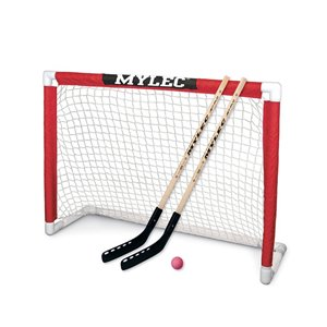 But de hockey Mylec pliable tout usage, 48 po x 37 po x 18 po