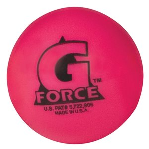 Balle de hockey Mulec G-Force rose, température 30° - 60°, paquet de 36