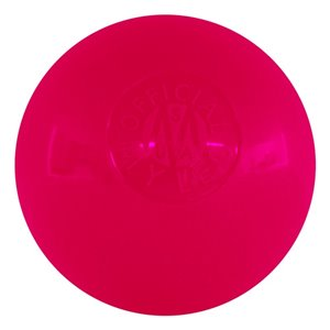 Balle de hockey intérieur Mylec sans rebond rose,  pqt de 12
