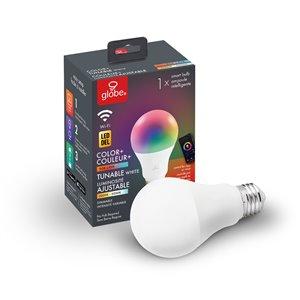 Ampoule Globe Electric DEL intelligente de couleur blanc réglable et changeante