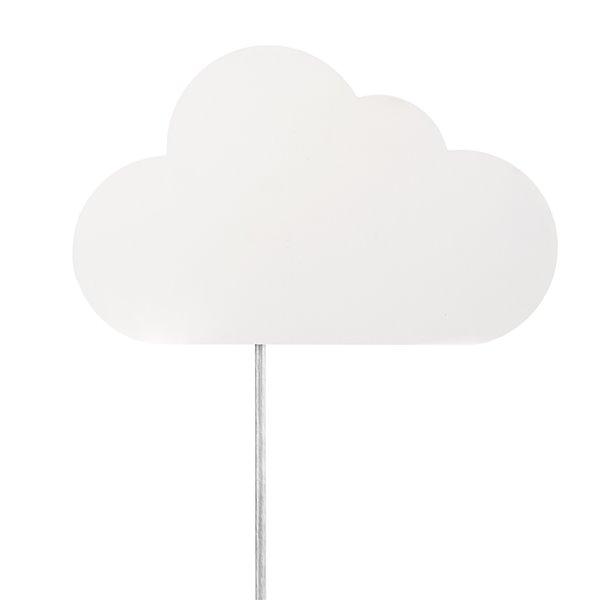 Applique murale Nimbus de Globe Electric enfichable à 1 lumière, motif de nuages