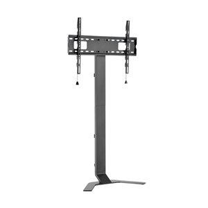 Support de plancher mince pour téléviseur de TygerClaw, 62.7 po, noir
