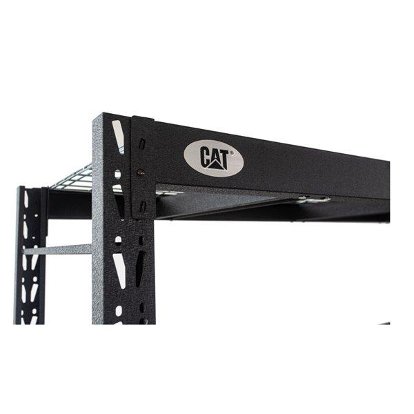 Étagère industrielle CAT, 4 tablettes 482472S4WR, 72 po x 48 po