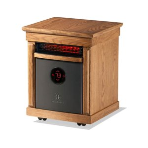 Heat Storm 1500-Watt Infrared Cabinet Electric Space Heater with Remote Included