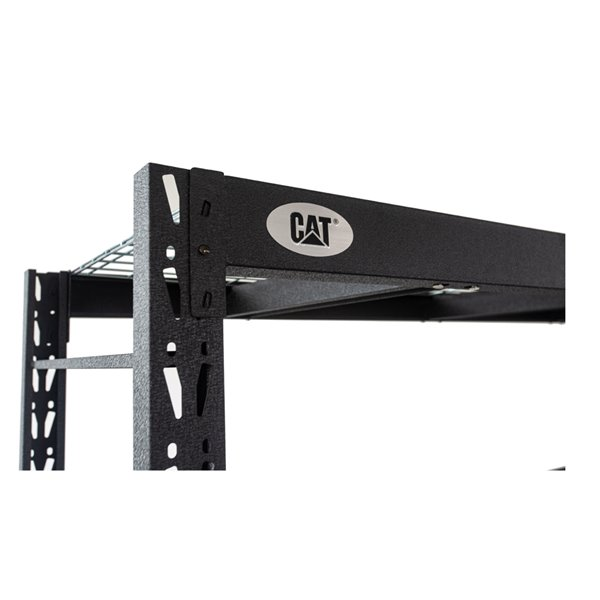 CAT Industrial Shelving 772472S4WR with 4 Shelves- 72-in x 77-in