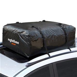 Coffre de toit souple pour bagages Ace JR de Rightline Gear, noir