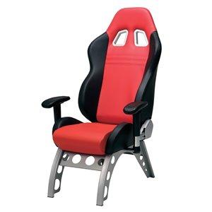 Chaise de jeu Pitstop GT Receiver, rouge