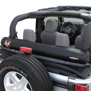 Sac de rangement pour fenêtre souple de Rightline Gear pour Jeep, noir