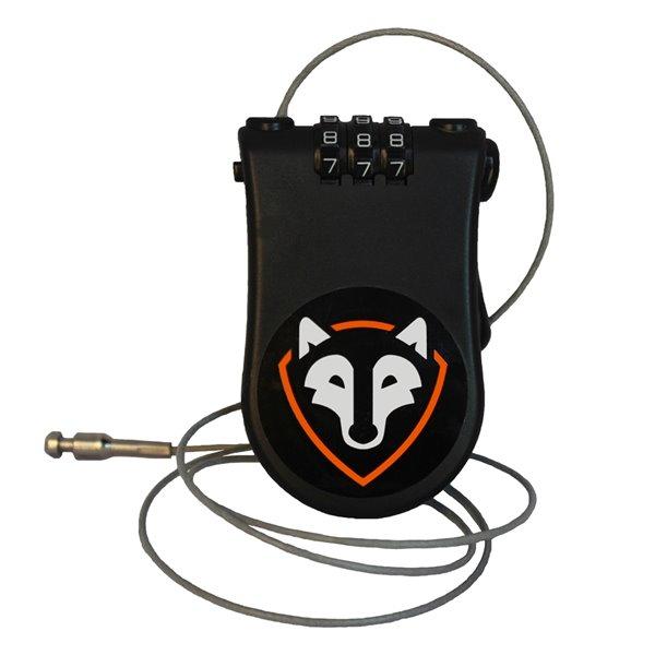 Serrure de voiture par de câble pour porte-bagages Rightline Gear