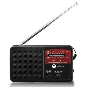 Motorola ATMOS Rechargeable AM/FM Weather Radio