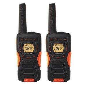 Radios bidirectionnelles/émetteurs-récepteurs Cobra Adventure Series, 22 canaux, 60 km, 2 mcx