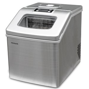 Frigidaire 40 lb Flip-up Door Ice Maker - Stainless Steel