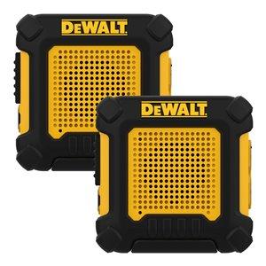 Radios bidirectionnelles DeWalt 100 000 pi², 2/pqt