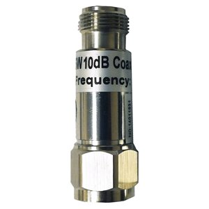 Atténuateur RF 10 dB de SureCall, nickel
